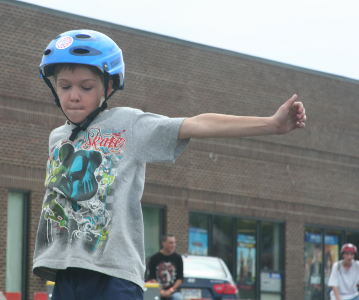 Young skaters also attended 2010 SK8 Jam