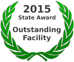 2015 State Award for Outstanding Facility